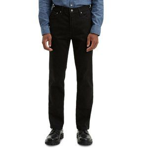 Levi's Men's 511 30x32 Slim Fit Jeans Black Dark